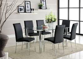 Tempered Glass Dining Table 6 Seats Square Tempered Glass Dining Tables Home Design Ideas