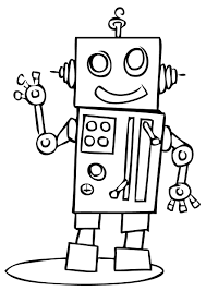 dk coloring pages robot coloring pages getcoloringpages com
