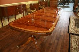 Huge Dining Room Table by Large High End Mahogany Dining Table Seats 12 14