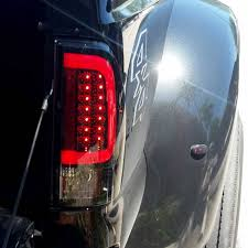 2008 ford f250 tail light bulb recon red led tail lights 2008 2016 ford super duty dale s super