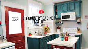 DIY Cabinet Refacing Knock It Off The Live Well Network - Diy kitchen cabinet refinishing