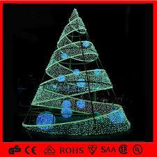 spiral christmas tree led merry cristmas