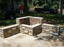 fire pit made of bricks masonry fire pit 6 steps with pictures