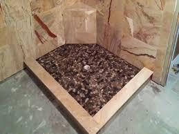 river rock bathroom ideas flooring ideas cool shower floor ideas astounding river rock