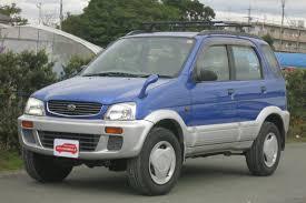 daihatsu terios 2000 sold 1960 2000 daihatsu terios 4wd 4wd gf j100g j100g 029245