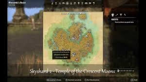 Khenarthi S Roost Treasure Map 1 Eso Skyshard Locations Khenarthi U0027s Roost Youtube