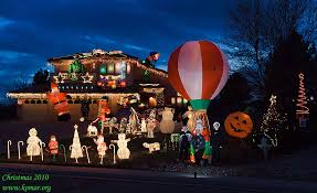 home depot inflatable outdoor christmas decorations home depot santa balloon from gemmy huge