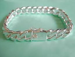 mens bracelet sterling silver images Bracelets 925 sterling silver mens bracelet was sold for r142 jpg