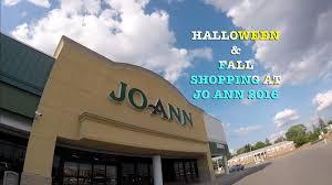 halloween u0026 fall shopping at joann 2016 youtube