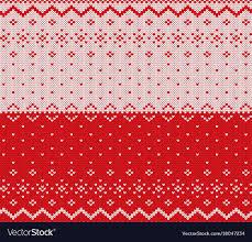 knit christmas knit christmas design seamless pattern vector image