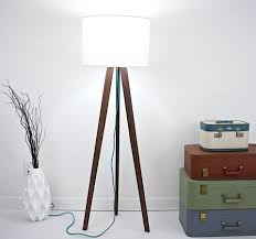 lamp design dimmable table lamp grey lampshade brown lamp shade