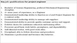Electrical Project Engineer Resume Sample Project Project Engineer Resume Template