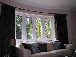 large front window treatments decor window ideas