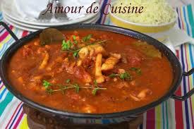 comment cuisiner le calamar riz aux calamars en sauce tomate amour de cuisine