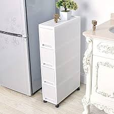 kitchen storage cabinet cart shozafia narrow slim rolling storage cart and organizer 7 1 inches kitchen storage cabinet beside fridge small plastic rolling shelf with drawers for