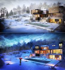 modern winter house interior design ideas