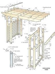 arbor swing plans garden arbor woodworking plans home design ideas and pictures