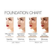 light medium skin tone amazon com mirenesse cosmetics 4 in 1 skin clone foundation