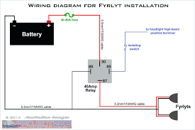 wiring diagram lu kepala motor 5 pin relay driving lights how to