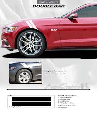decals for ford mustang 2015 2016 2017 ford mustang bar to fender hash