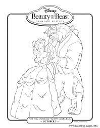 beauty beast diamond edition disney princess 4cb2 coloring