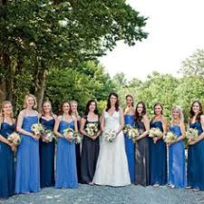 blue mismatched bridesmaids and now we are married pinterest