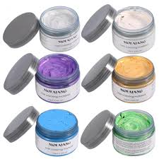 shop grey white hair color wax one time