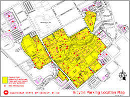 App State Campus Map by Bike And Skateboard Information University Police Csu Chico