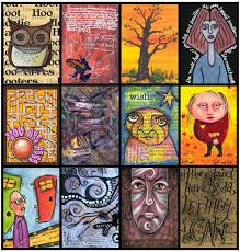 25 best artist trading cards images on artist trading