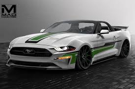 black convertible cars ford bringing seven 2018 mustang show cars to sema rk motors