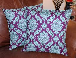 Purple Sofa Pillows by Throw Pillow Covers 16x16 Set Of 2 Sewn With Joel Dewberrys