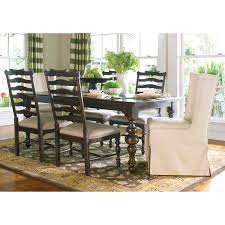 paula deen home paulas dining table tobacco hayneedle