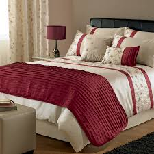 Designer Duvet Cover Sets Bedroom Luxury Duvet Covers In Red And Beige Also Drum Tabla Lamp