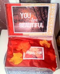 fall care package you are beautiful box college care package