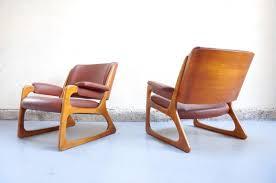 vendu paire fauteuil baumann vintage design ées 50 60 70