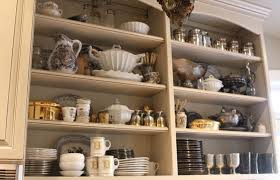 Display Dishes In China Cabinet Romancing The Home Dishing It Out