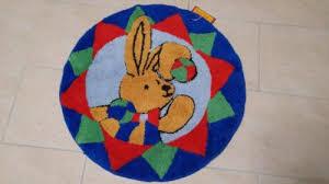 kinderzimmer teppich rund spiegelburg felix teppich rund kinderzimmer waschbar 70 cm in