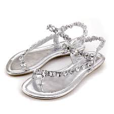 Rhinestone Flat Sandals Wedding 47 Best Sandals Images On Pinterest Shoes Flat Sandals And