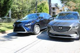 lexus rx330 vs honda cr v head2head lexus rx350 and mazda cx 9 u2013 speed beautiful u2013 for