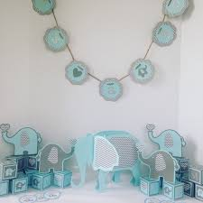 baby boy baby shower decorations ready to ship elephant baby