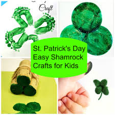 5 easy shamrock st patrick u0027s day crafts for kids stylish life