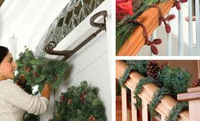 Garland Hangers For Banister How To Hang Garland Improvements Blog