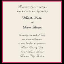 wedding invitation layout and wording sles of wedding invitation nisartmacka com
