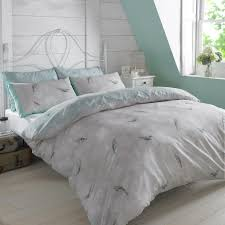 Premium Bedding Sets Dreamscene Premium Vintage Birds Floral Duvet Quilt Cover Bedding