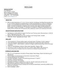 Assembly Line Worker Resume Sample by Assembly Line Resume Sample