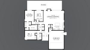 mascord house plan 1161b the cascade lake