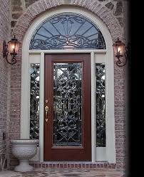 Front Door Glass Designs | exterior doors with glass super glass designs leaded glass entry