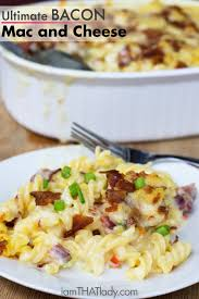 This is the ULTIMATE Bacon Mac and Cheese Amazing