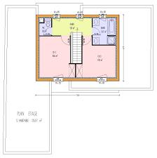 plan maison simple 3 chambres plan maison 3 chambres 1 bureau bungalow conomique avec garage