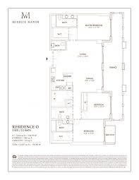 Parkland Residences Floor Plan by Coral Gables Pre Construction Condos
